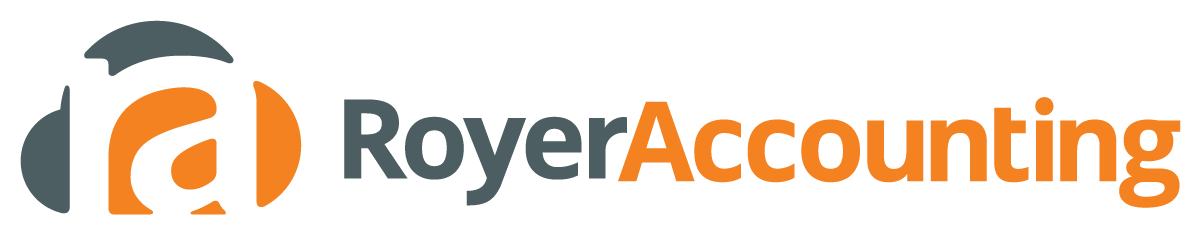 royer accounting footer logo