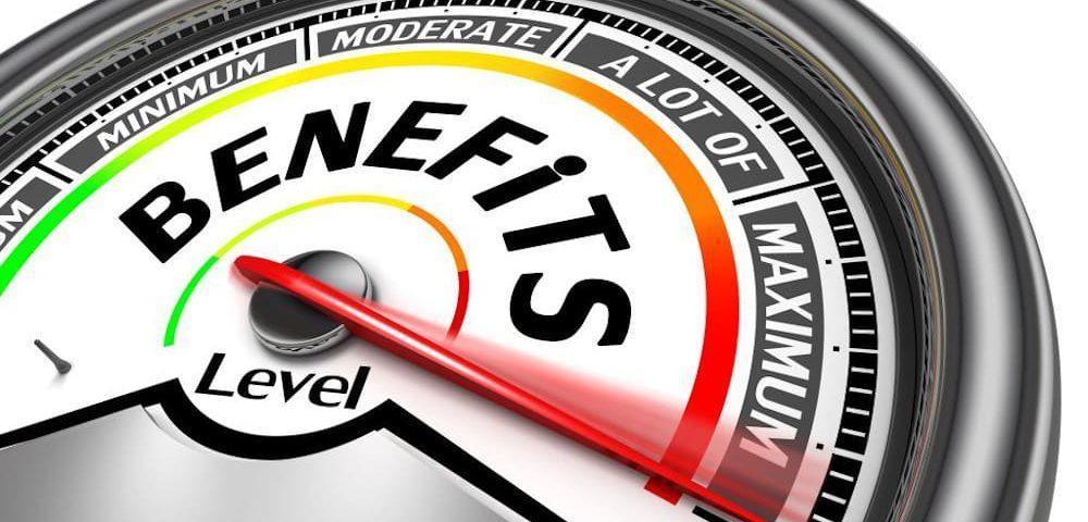 Benefits meter