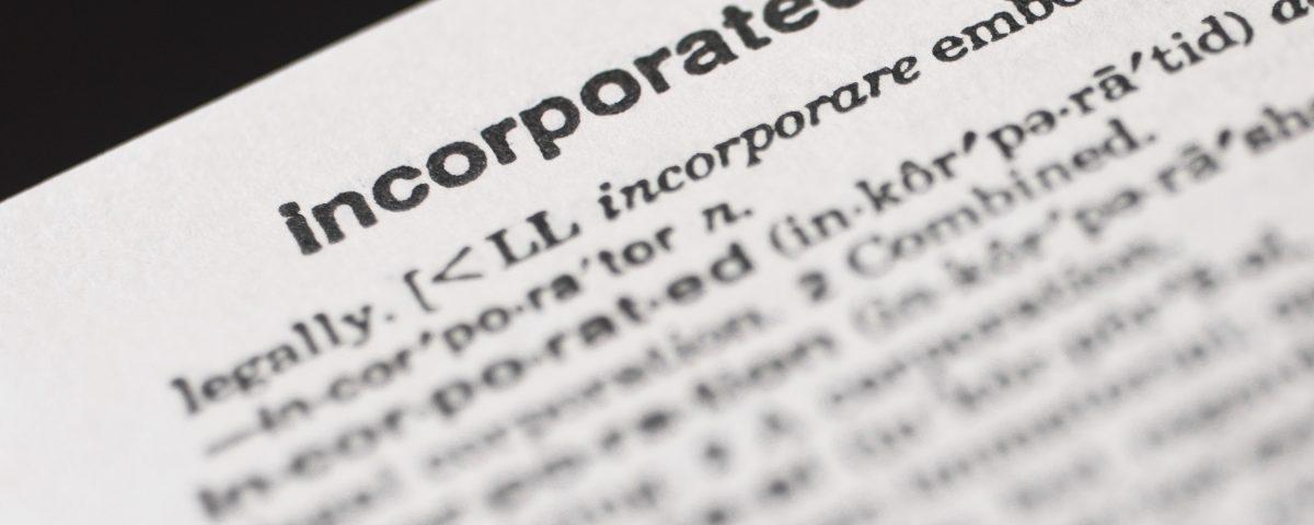Incorporated word in vocabulary